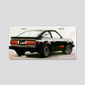 Other Black AMX Aluminum License Plate