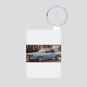 Hornet Wagon Aluminum Photo Keychain