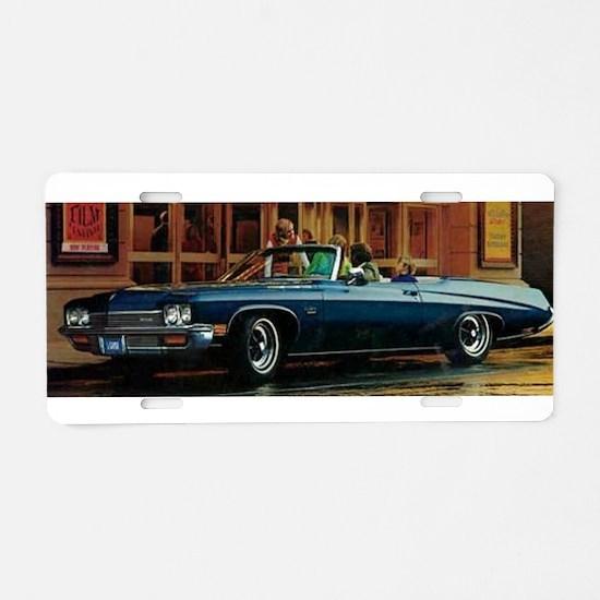 LeSabre Aluminum License Plate