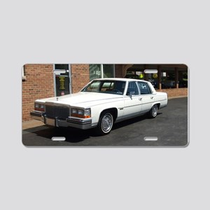 Sedan de Ville Aluminum License Plate