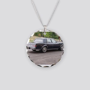 New Yorker Necklace Circle Charm