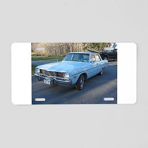 Dart Four Door Aluminum License Plate