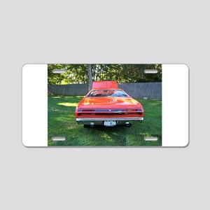 Plymoutn Duster Aluminum License Plate
