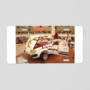Tempo Lowrider Aluminum License Plate