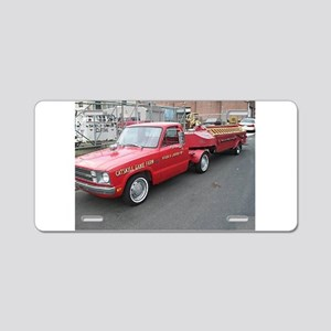 Funny Ford Pickup Aluminum License Plate