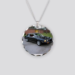 1984 Cougar Necklace Circle Charm