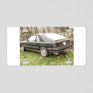 Capri Aluminum License Plate
