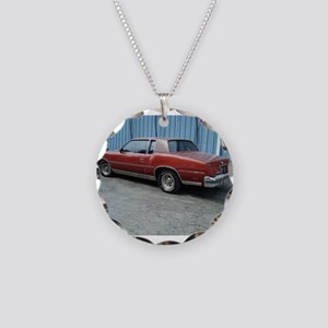 Cutlass Supreme Necklace Circle Charm
