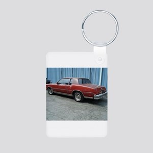 Cutlass Supreme Aluminum Photo Keychain