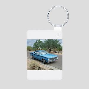 Duster Aluminum Photo Keychain
