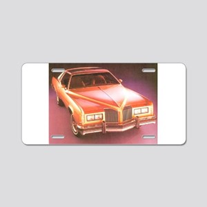 1977 Grand Prix Aluminum License Plate