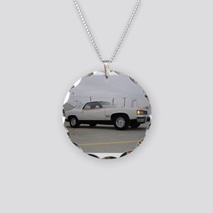 Can Am Necklace Circle Charm