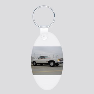 Can Am Aluminum Oval Keychain