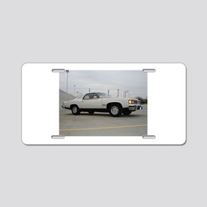 Can Am Aluminum License Plate