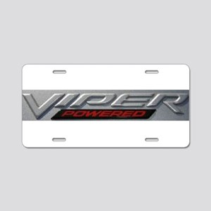 Viper Aluminum License Plate