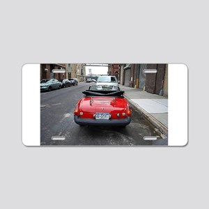 MG Rear Aluminum License Plate
