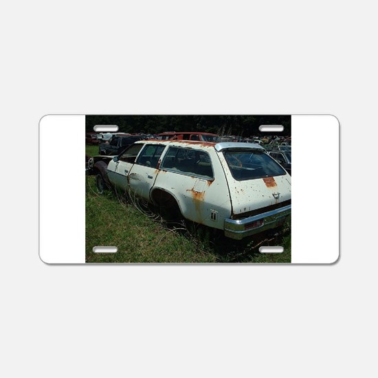Malibu Classic Wagon Aluminum License Plate