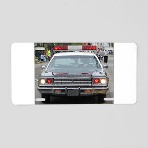 Gran Fury Aluminum License Plate