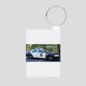 Ford Crown Victoria Aluminum Photo Keychain