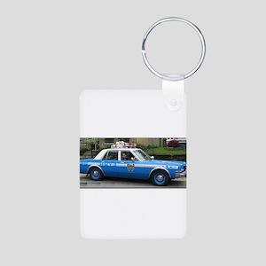 Dodge Diplomat Aluminum Photo Keychain