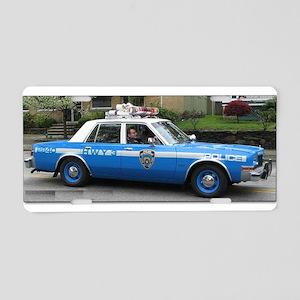 Dodge Diplomat Aluminum License Plate