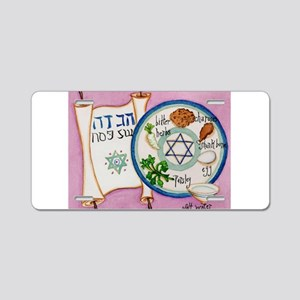 Passover Plate Aluminum License Plate
