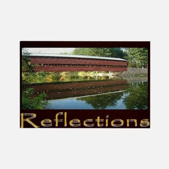 Gettysburg Sachs Covered Bridge Rectangle Magnet