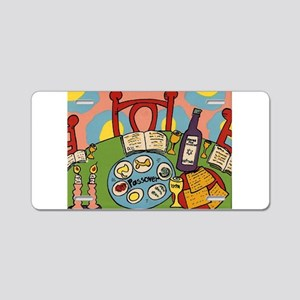 Seder Table Aluminum License Plate