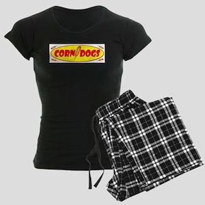 Corn Dogs Women's Dark Pajamas