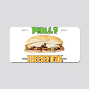 Philly CheeseSteak Aluminum License Plate