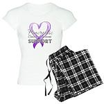 Pancreatic Cancer Women's Light Pajamas