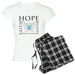 Hope Faith Prostate Cancer Women's Light Pajamas
