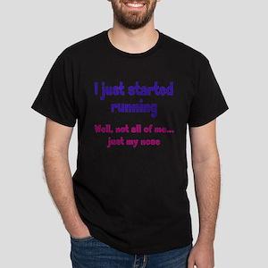 Started Running Dark T-Shirt
