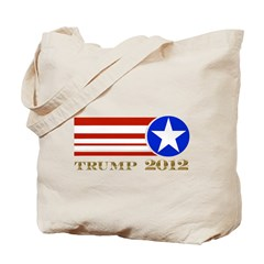 Donald Trump 2012 President Tote Bag