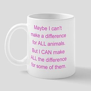 Make a difference! Mug