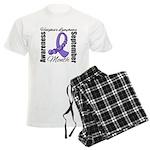 Lymphoma Month Gemstone Men's Light Pajamas