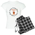 Leukemia Survivor Circle Women's Light Pajamas