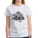 Wicked Darts Women's Classic White T-Shirt