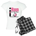 I Run For Breast Cancer Women's Light Pajamas