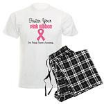 BreastCancerPink Men's Light Pajamas