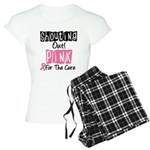 Shouting Out Pink Cure Women's Light Pajamas