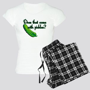Does That Come w/ Pickles? Women's Light Pajamas