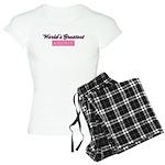 World's Greatest Aunt (pink) Women's Light Pajamas