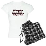 Young Enough Aunt Women's Light Pajamas
