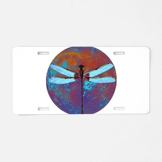 Dragonflight Aluminum License Plate