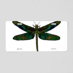 September Wing Aluminum License Plate