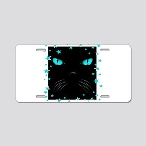 Boo - Aquamarine Aluminum License Plate
