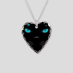 Boo - Aquamarine Necklace Heart Charm