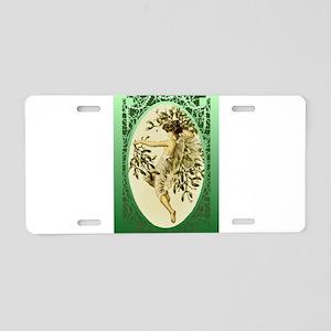 Mistletoe Faerie Aluminum License Plate