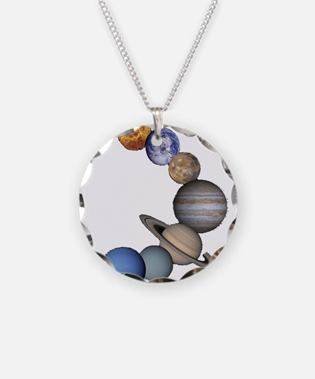 Planet Swirl Necklace